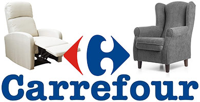 sillones carrefour