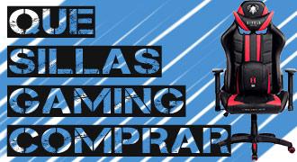 sillas gamer precio